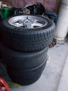 4 Mercedes tiers and rims