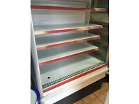 Open deck shop fridge for sale