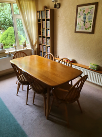 1960s Vintage Ercol Table & Chairs.