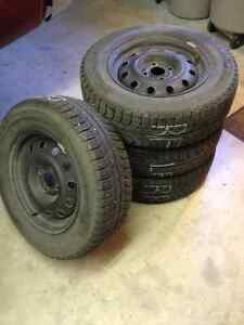 Michelin X-Ice 185/70R14 - Fits Civic