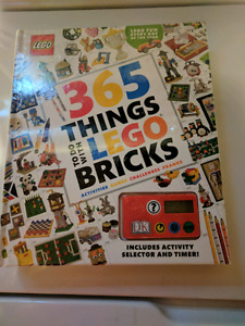 365 things to do with Lego bricks book
