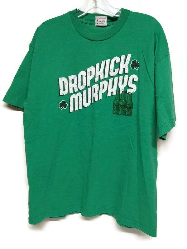 Dropkick Murphys Mens XLarge Irish Rock Band Tee St. Patty