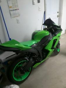2007 Kawasaki Ninja ZX6R Mint condition $5000