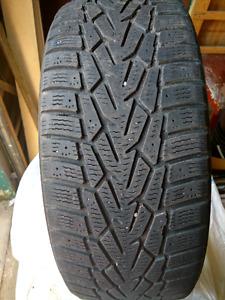 4 215 60R16 Nokian Hakkapeliitta 7 winter tires for sale.