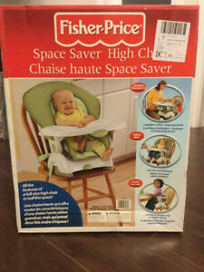 Fisher-Price Space Saver High Chair - Brand New
