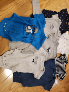 Lot of baby clothes 0-3 month old