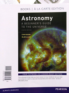 Selling Astronomy textbook looseleaf