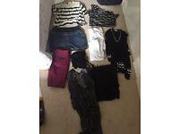 Bundle of Maternity Clothes Sz 8-10