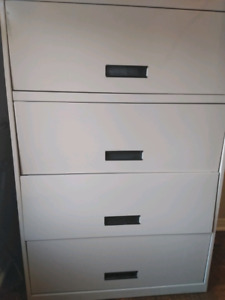 Metal Filing Cabinet.  Great for small business needs.