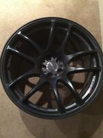 Authentic work cr Kiwami wheels 18x9.5 5x100