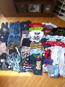 Baby boys 6-12 month large clothing lot