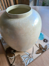 Poole Pottery Vase with beautiful pearlescent iridescent glaze