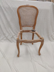 French Louis XV style side chair - Frame Only