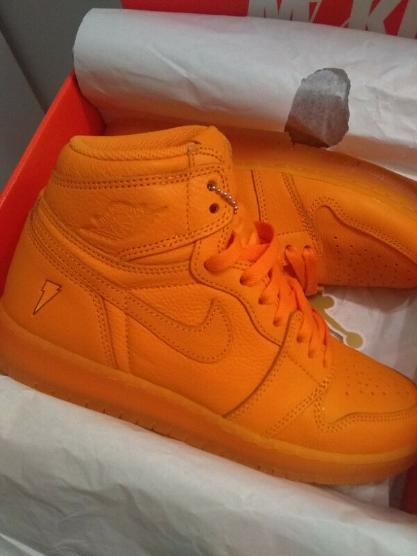 low priced 30ee0 7c763 Air Jordan 1 Retro Hi OG Gatorade 1s (orange) size 6.5
