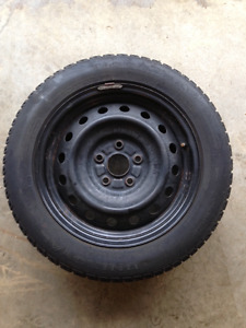 Toyota 5x114.3 rims and winter tires