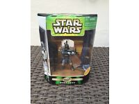 Collectable Star Wars Boba Fett 300th Figure special edition 2000