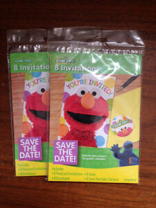 Elmo party invites x 2