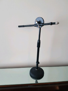 Microphone Boom for your desk top