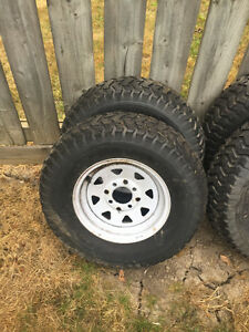Turf tires on 4 bolt rims