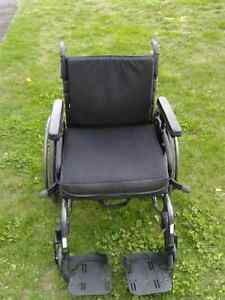 "Wheelchair in ""like new"" condition"