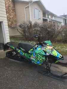 2013 Arctic cat m8 Limited addition153 track