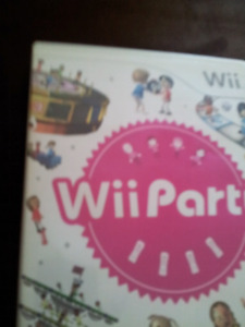Wii party lot of fun  ex     condition no scratch
