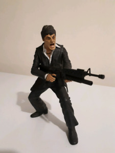 Miniature toy model of scarface