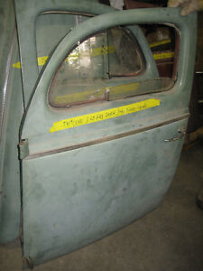 Pair of 1940 Ford Coupe doors, mint, sell or trade London Ontario image 1
