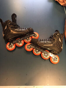 Mission hockey roller blades for kids, size 4 negociable
