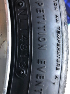 Nitto NT1 AutoCross tires (used)
