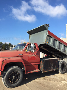 1980 Ford F70 Dump Truck - REDUCED
