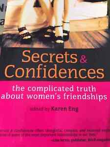 Secrets and confidences the complicated truth about women's .. London Ontario image 1