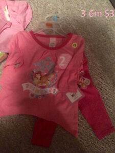 New Baby Girl clothing 0-9m