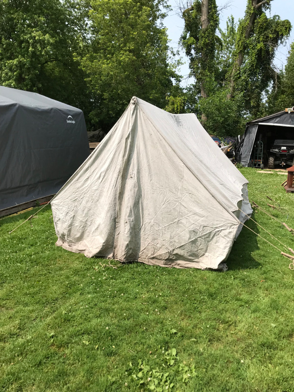 Canvas Prospector Tent