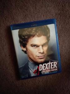 Dexter the Third Season on blu-ray