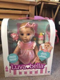 Bnib blonde luvabella doll