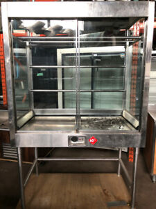 RESTAURANT ROTARY MEAT WARMER FOR SALE