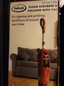 Ewbank Floor Cleaner, Scrubber and Polisher