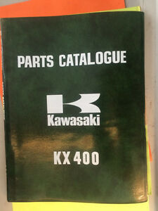 1975 1976 Kawasaki KX400 KX400-A2 Parts Catalogue