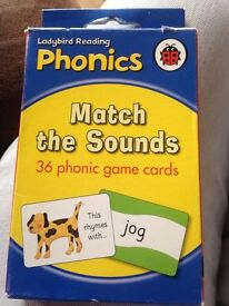 Pre school learning cards.