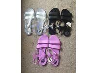 Brand new Ladies JuJu Jelly Sandals - Size 8