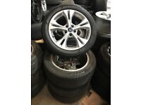 """17"""" ford alloy wheels Alloys Rims tyre tyres transit connect focus mondeo"""