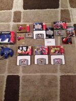Boxed N64 games and controller