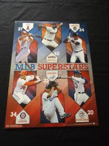 "MLB Superstars 18"" x 24"" Poster-Donaldson, Trout, Harper"