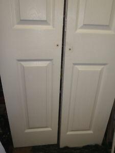 2 bi -fold doors