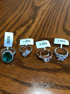 Charmed Aroma Rings Sz 6, 7 & 8