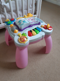 Baby Musical Activity Table/Playcentre