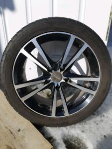 Mag 17pouces avec pneu d été