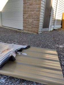 Steel siding/ roofing