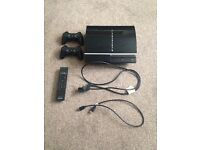 QUICK SALE - PS3 with 15 games, 2 controllers, cables and remote (PlayStation 3)